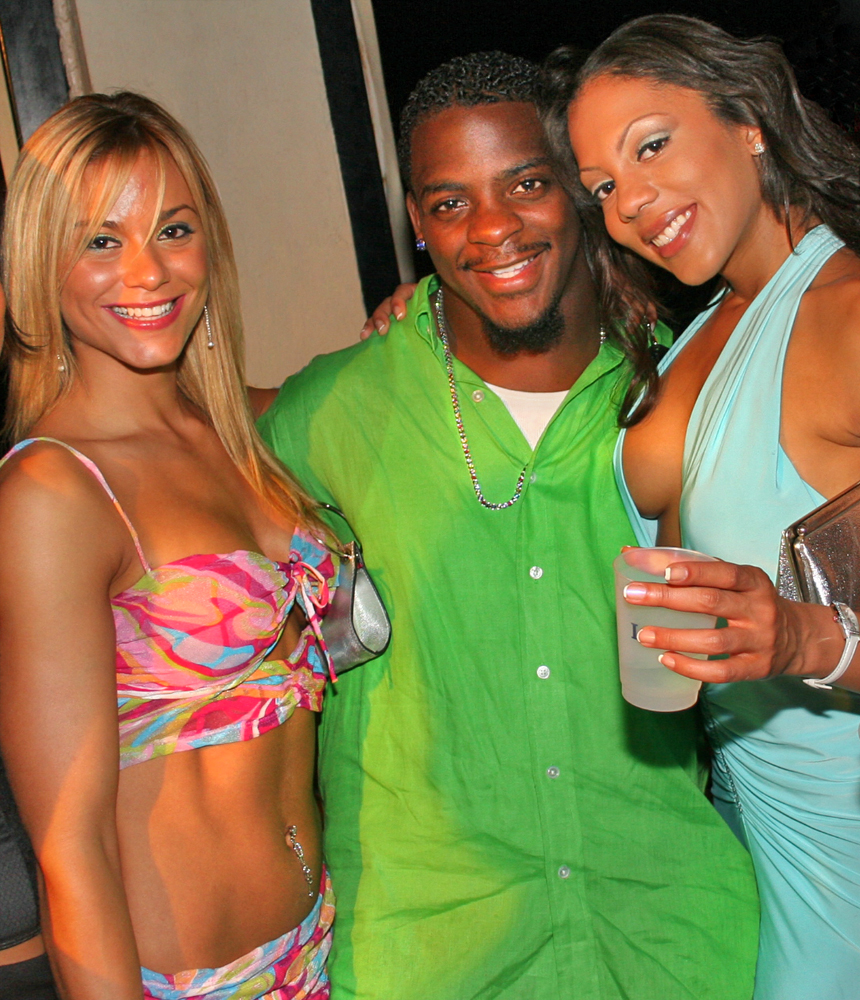 clinton portis birthday party redskins runningback 1000