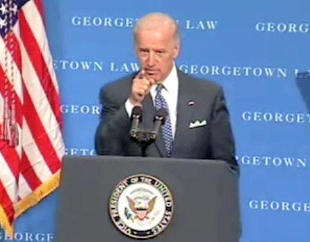 Joseph Robinette Joe Biden, Jr the 47th Vice President of the United States