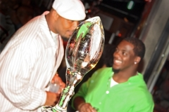 Clinton portis and mike sellers redskins football ice sculpture 800x